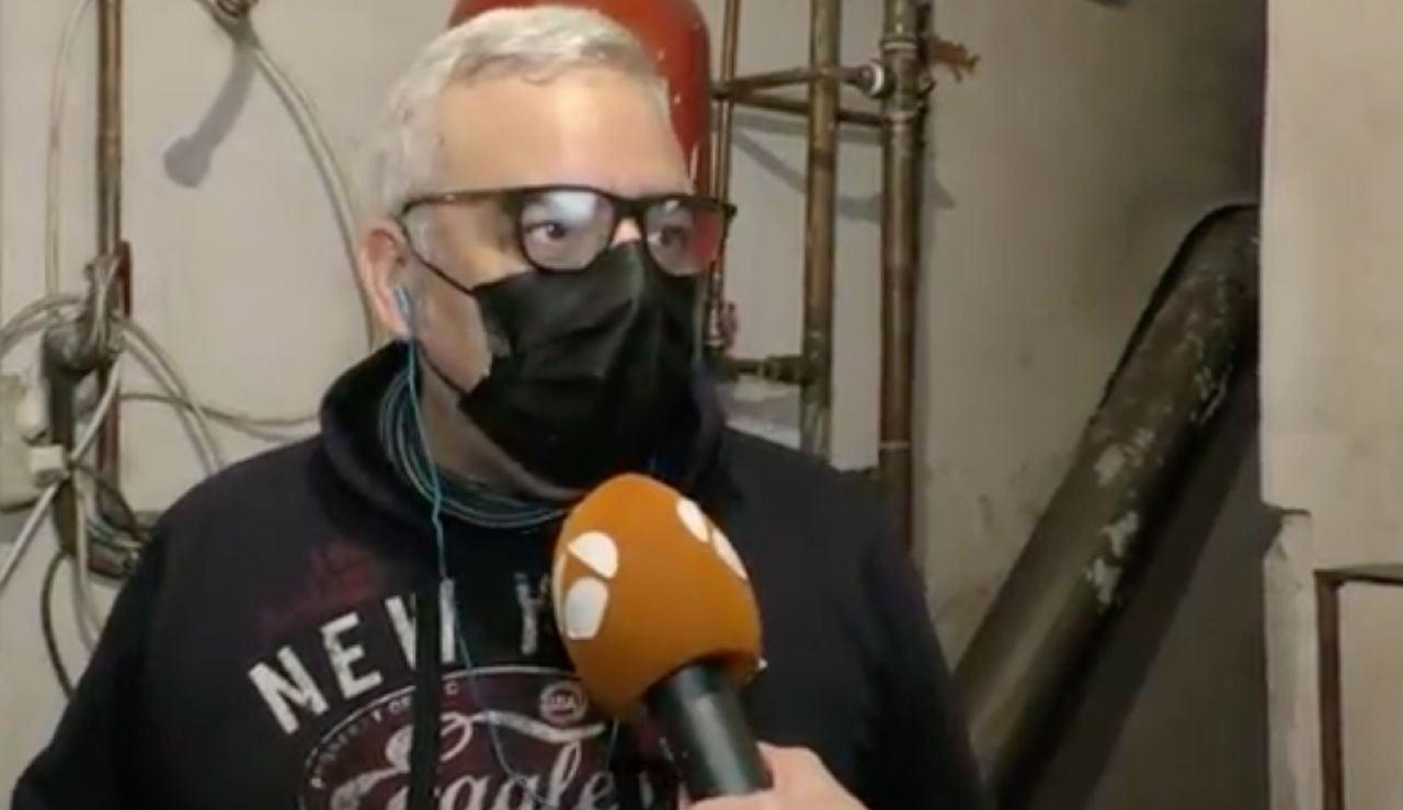 Leandro Montalban, herido en explosión de gas