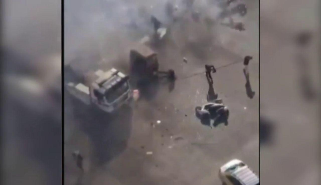 Al menos 32 muertos y 110 heridos en un atentado suicida en Bagdad