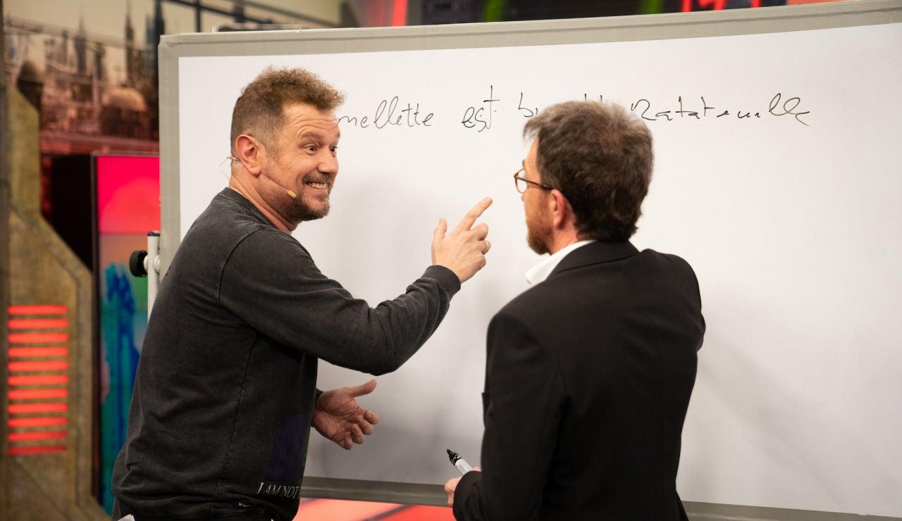 ¿Mintió El Monaguillo en su currículum? Pablo Motos le hace demostrar su nivel de idiomas