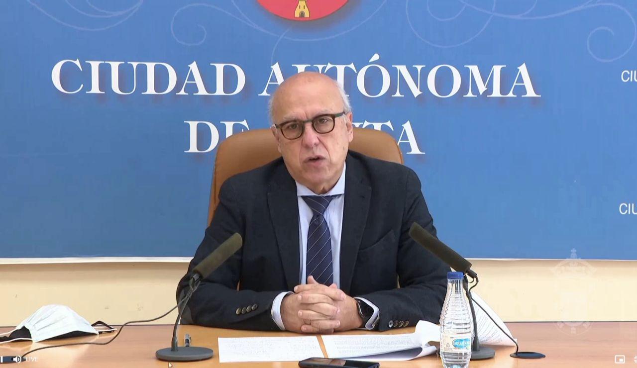 ministro sanidad ceuta