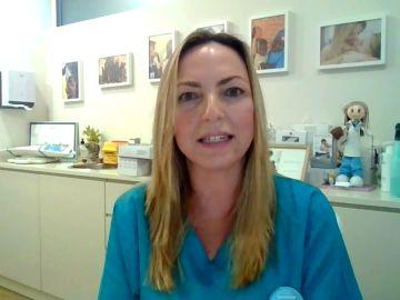 Lucía galán, 'Lucía mi pediatra' en Antena 3 Noticias