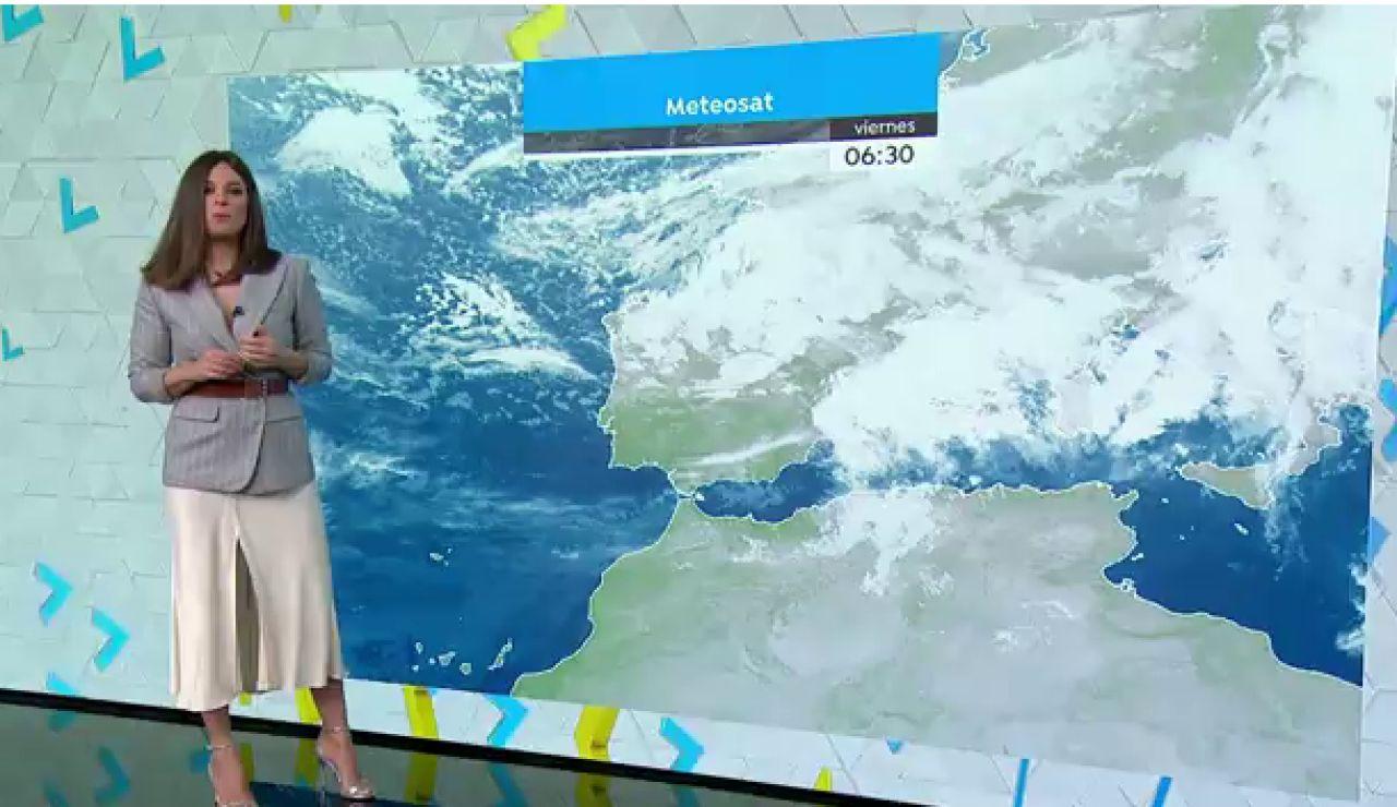 Alerta por vientos intensos oleaje o nieve en toda España