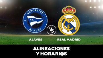 Alavés - Real Madrid: Horario, alineaciones y dónde ver el partido de Liga Santander en directo