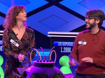 """""""¡Laura y Joan se han estrenado!"""", la primera explosión de '¡Boom!' para los nuevos concursantes de 'Los dispersos'"""