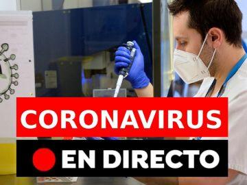 Coronavirus España: Última hora hoy viernes 22 de enero, en directo