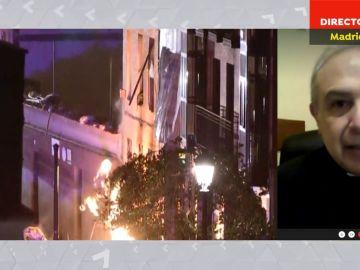La emocionante reacción del hijo de 9 años de David Santos, uno de los fallecidos en la explosión de la calle Toledo