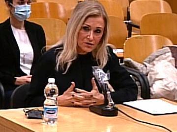 a expresidenta de la Comunidad de Madrid, Cristina Cifuentes