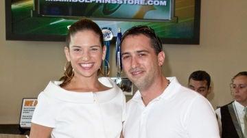 Natalia Jiménez y su exmarido Daniel Trueba