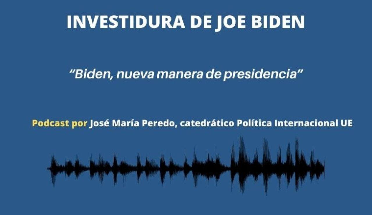 """Podcast de José Mª Peredo: """"Biden, nueva manera de presidencia"""""""