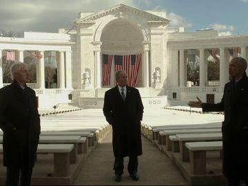 George W. Bush, Bill Clinton y Barack Obama