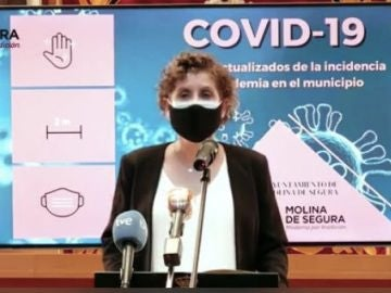 Esther Clavero, alcaldesa de Molina de Segura