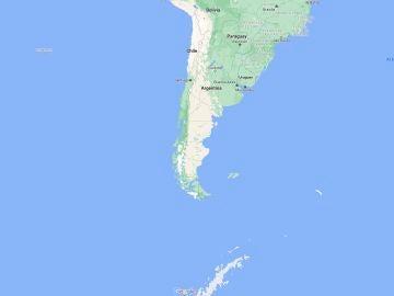 Dos seísmos en la Antártida y en Chile