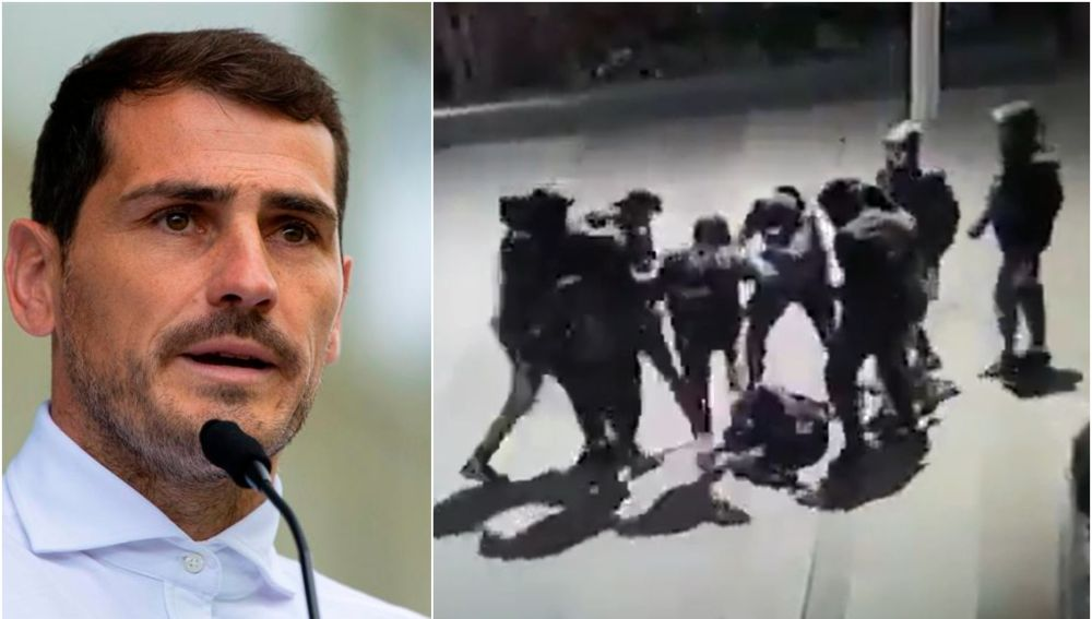 Iker Casillas explota por la brutal paliza a un joven de 15 años en París