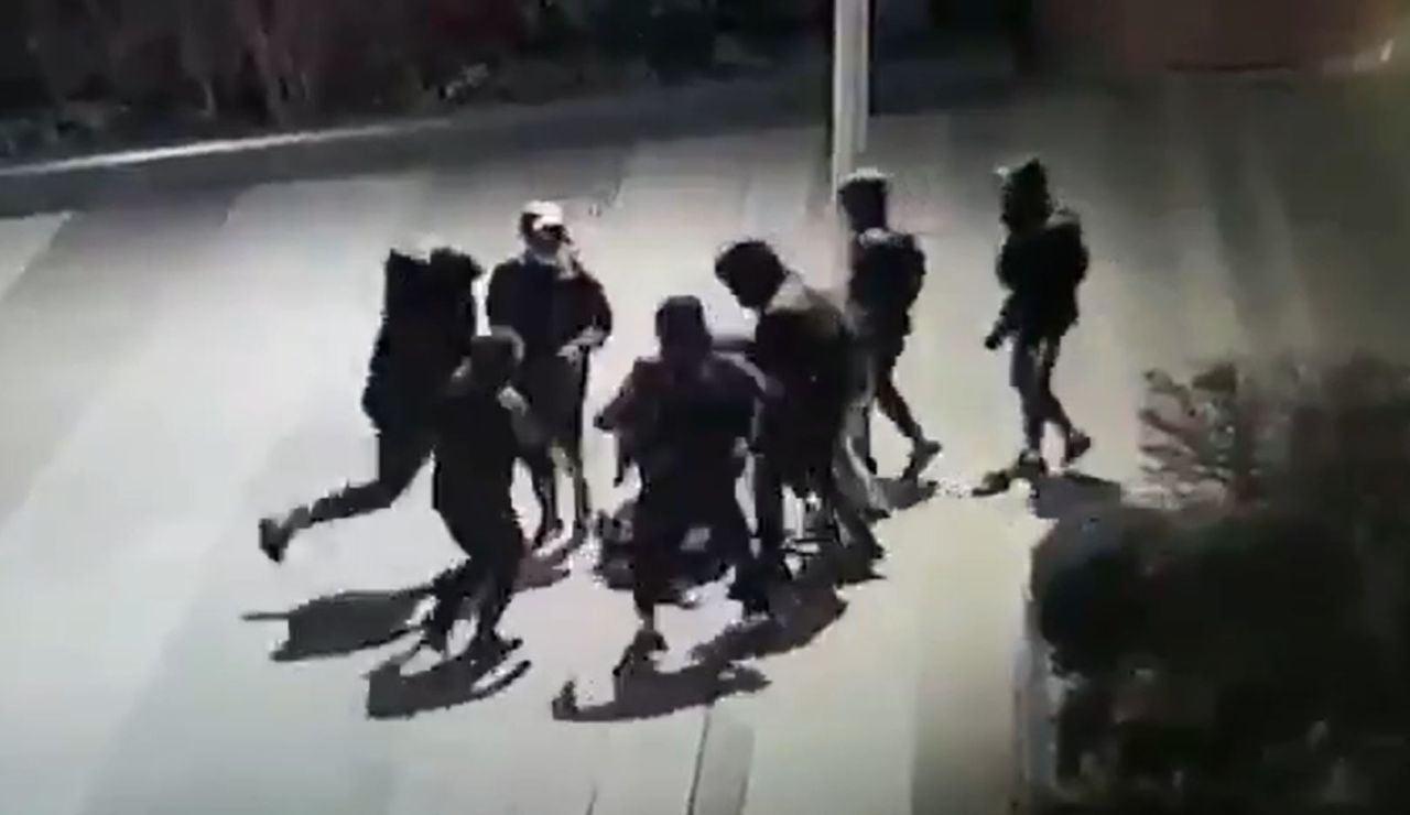 Brutal paliza a un joven en Francia
