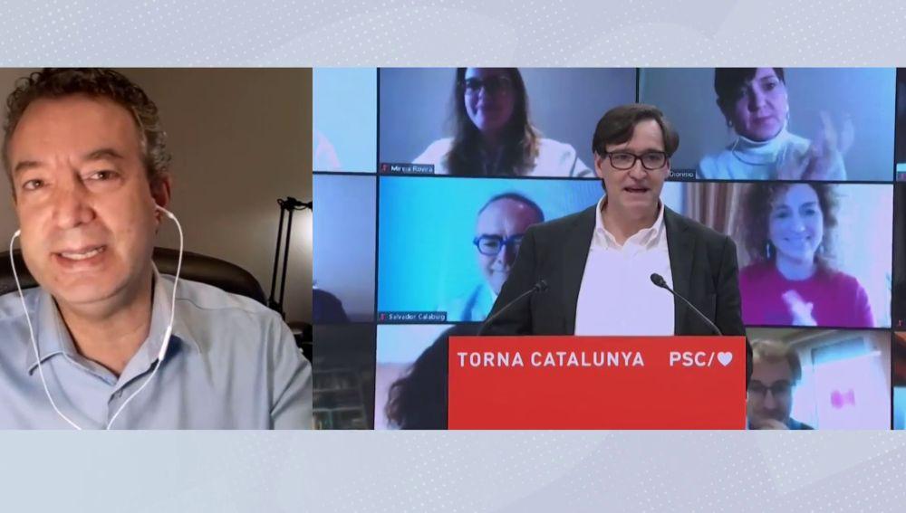 """César Carballo, sobre el sustituto de Salvador Illa: """"Me gustaría que fuera alguien que por primera vez sepa de Sanidad"""""""