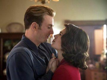 Capitán América y Peggy Carter en 'Vengadores: Endgame'
