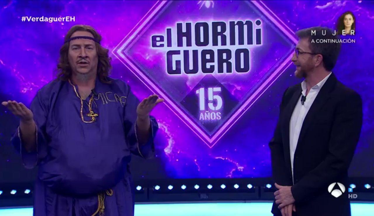 """'Carlos Jesús' reaparece en 'El Hormiguero 3.0' con una nueva teoría: """"Pronto va a haber una evacuación mundial"""""""