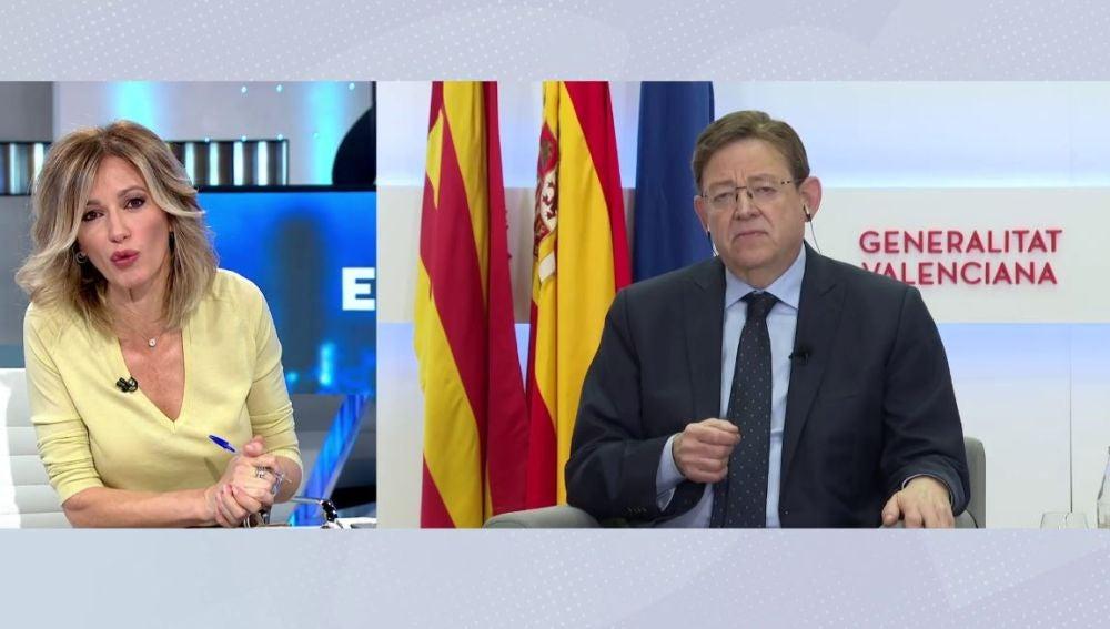 Ximo Puig en Espejo Público.