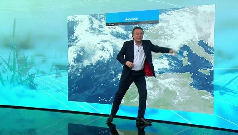 La previsión del tiempo hoy: Lluvias persistentes hasta el miércoles y temperaturas menos gélidas
