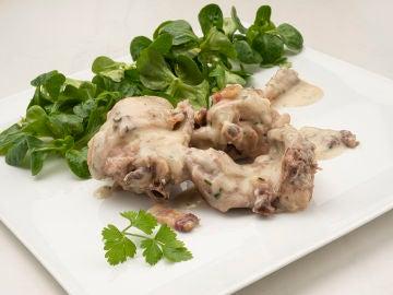 Receta de conejo al jerez en 5 minutos de olla, de Karlos Arguiñano