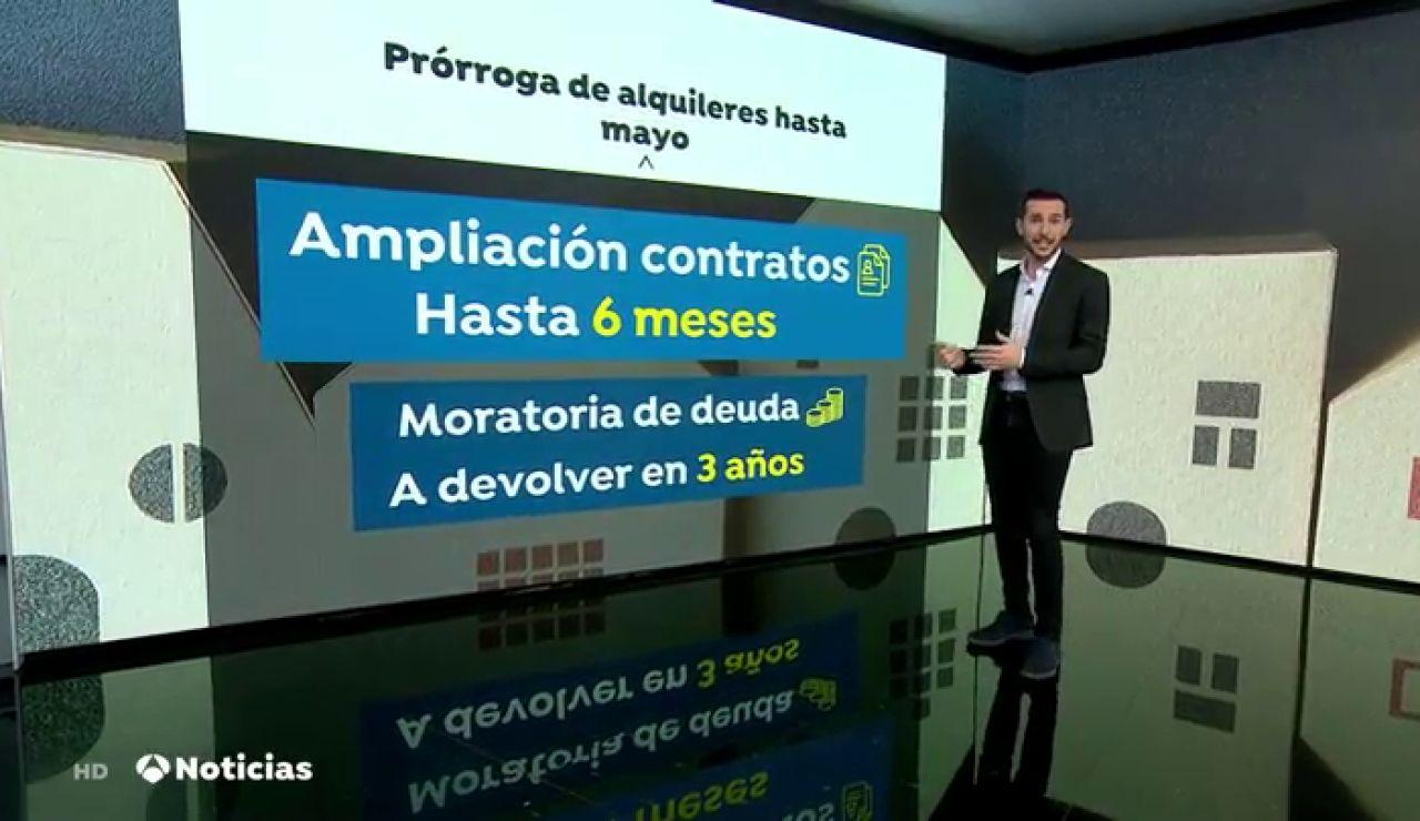 REEMPLAZO El Gobierno prorrogará hasta mayo las ayudas al alquiler por la crisis del coronavirus