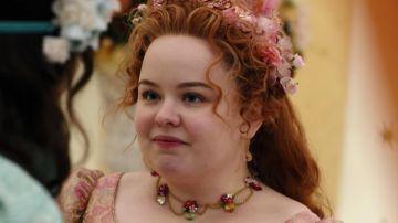 Nicola Coughlan como Penelope en 'Los Bridgerton'