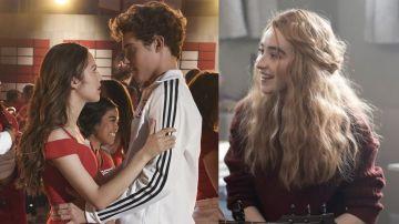 Los protagonistas de 'High School Musical: El musical: La serie' y la protagonista de 'Clouds'