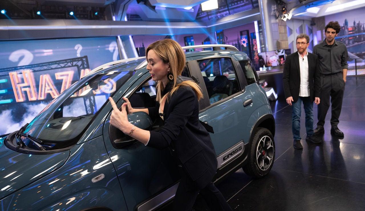 Una nueva utilidad del cinturón de seguridad: Marta Hazas lo explica en 'El Hormiguero 3.0'