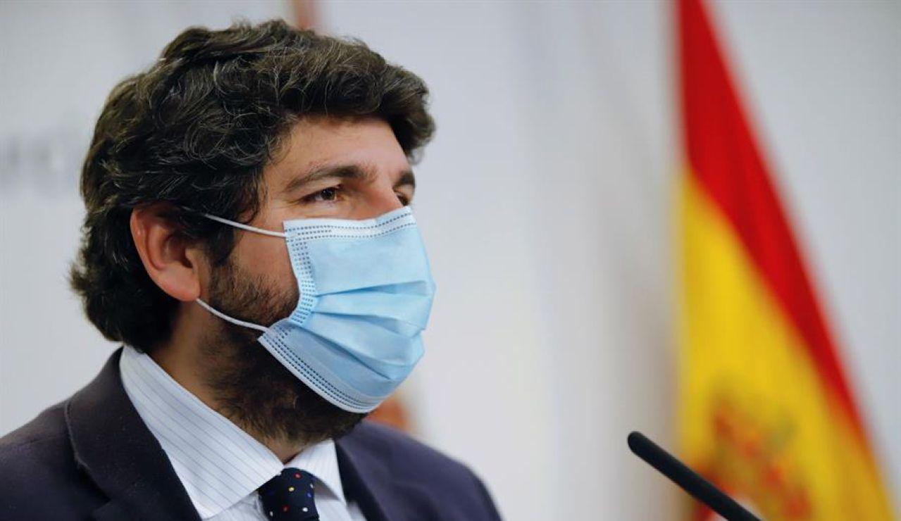Murcia suspende actividades no esenciales los fines de semana en los municipios con una incidencia superior a 2.000 casos