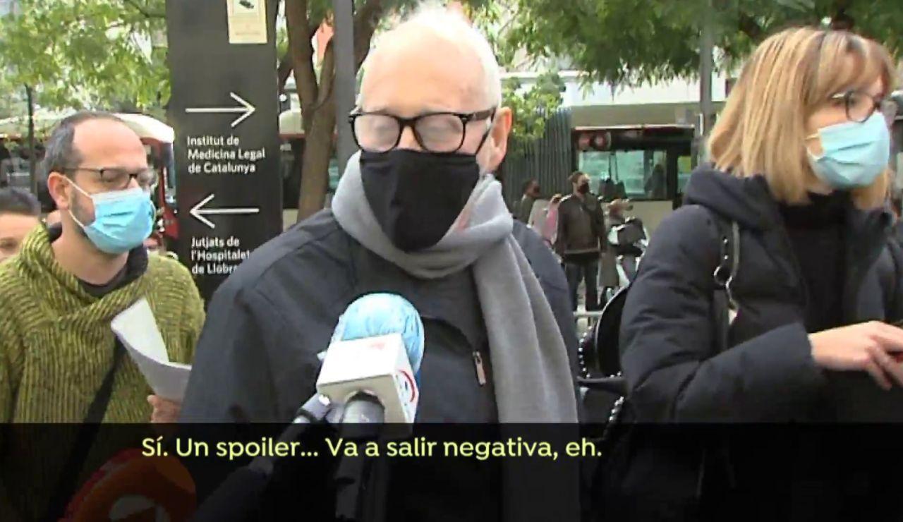 """Josep Maria Mainat se somete a examen toxicológico que solicita su exmujer: """"Un spoiler, va a salir negativa"""""""