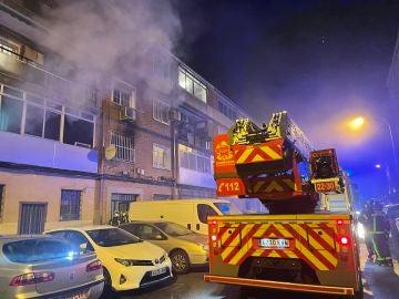 Incendio Alcalá de Henares: Muere un hombre de 72 años en el incendio de una vivienda