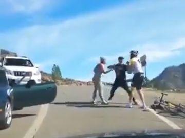 Gran Canaria: Salvaje agresión de un conductor a un ciclista en Santa Lucía de Tirajana