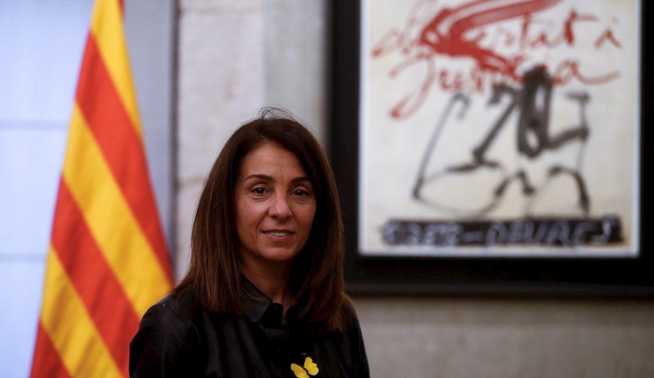La consellera de la Presidencia y número seis en la lista de JxCat por Barcelona en las elecciones catalanas del 14 de febrero, Meritxell Budó