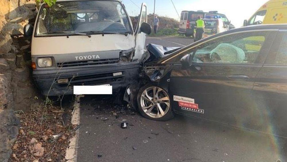 Accidente de tráfico en Canarias