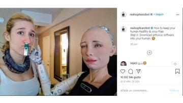 Instagram de @realsophiarobot