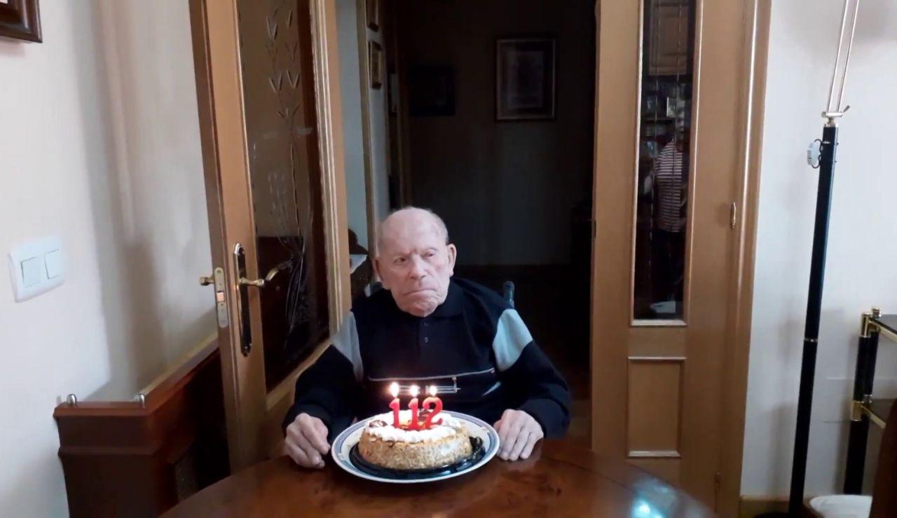 Saturnino cumple 102 años