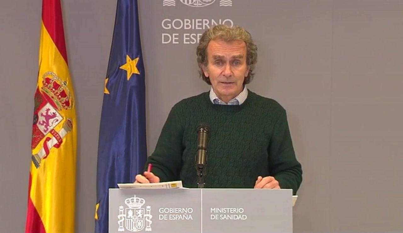Fernando Simón habla sobre la situación del coronavirus en España