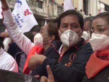 El correísta Andrés Arauz consigue ganar la primera vuelta de las elecciones presidenciales de Ecuador