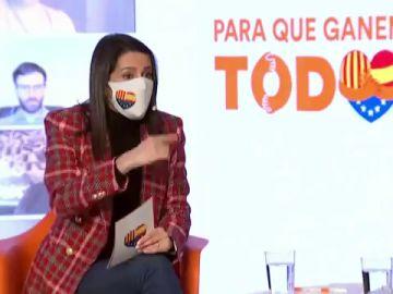 Inés Arrimadas llama a la movilización para evitar un gobierno tripartito en Cataluña