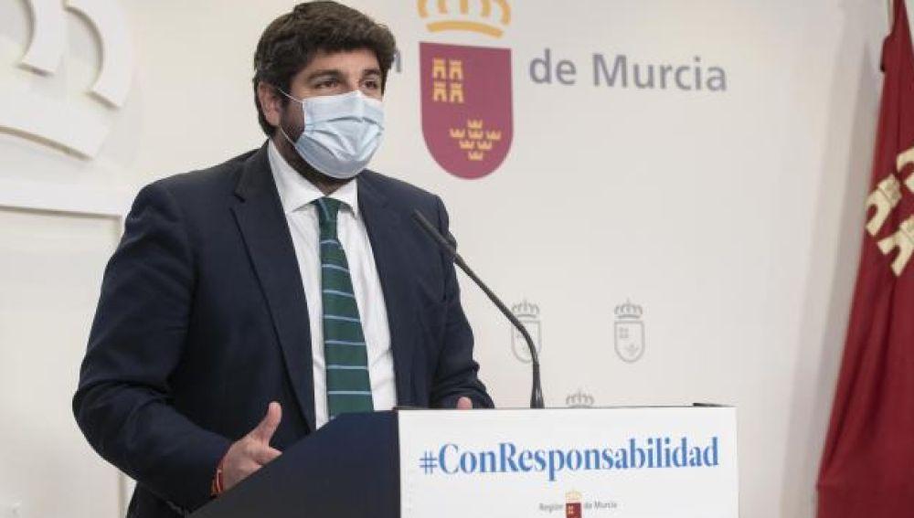 Presidente, Fernando López Miras