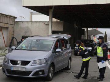 Controles en la frontera hispanolusa