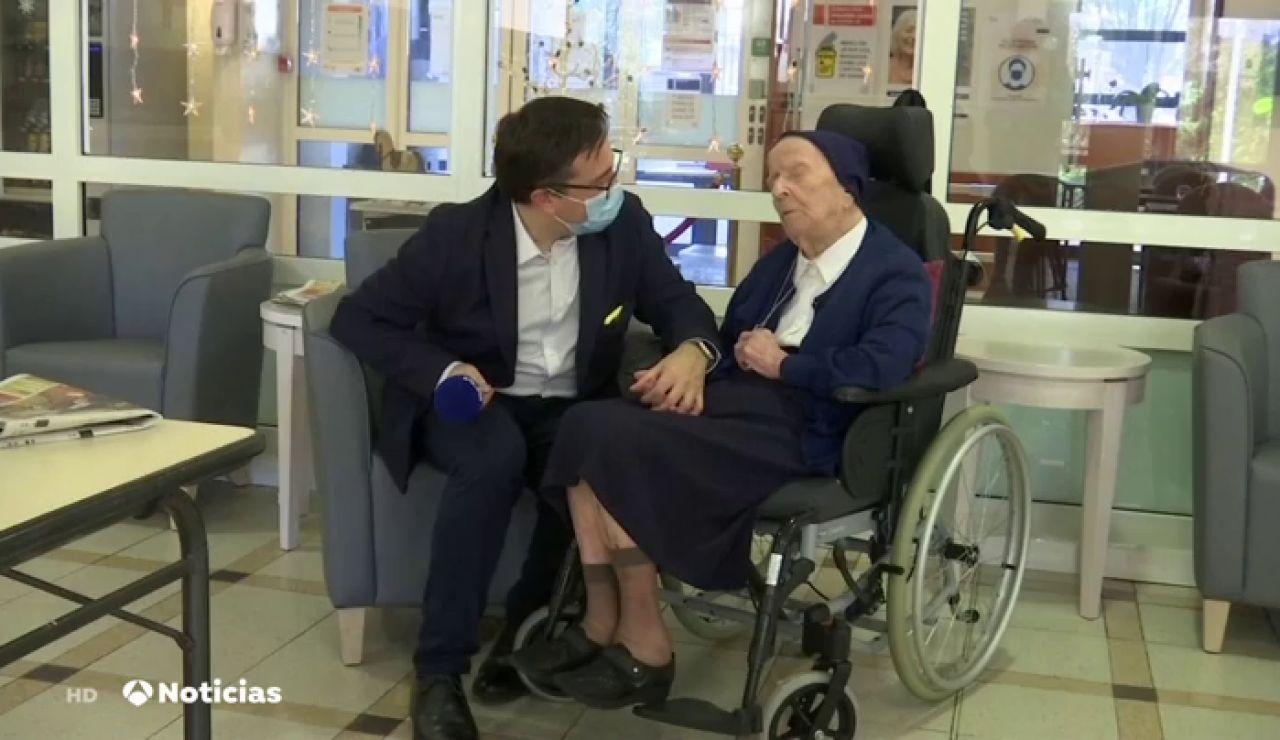 La monja Sor Andre, la mujer más longeva de Europa, supera el coronavirus con 116 años