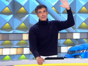 """El mensaje de Jorge Fernández a 'La Resistencia' para elogiar al público de 'La ruleta de la suerte': """"Ni me lo toquéis"""""""