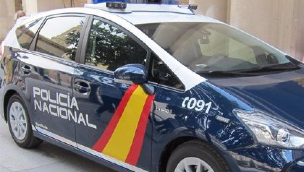 Coche de la Policía Nacional en Madrid