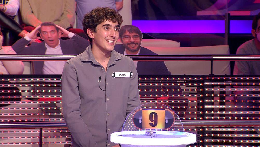 Los apellidos de un concursante que marcaron su adolescencia