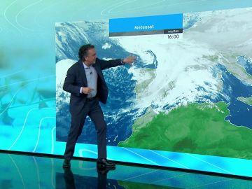 La previsión del tiempo hoy: Llega una nueva borrasca que dejará precipitaciones en toda la Península