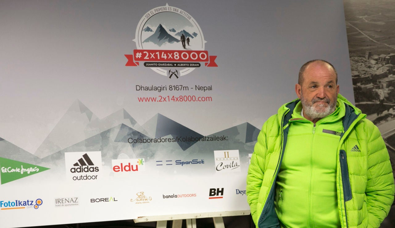 El montañero vasco Juanito Oiarzabal