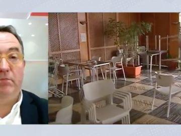 """José Luis Yzuel, presidente de los hosteleros de España: """"No se nos puede criminalizar"""""""