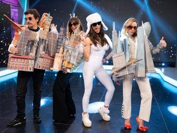 Beyoncé, los calcetines por fuera y los monumentos mundiales: Pilar Rubio vuelve a sorprender con las nuevas tendencias