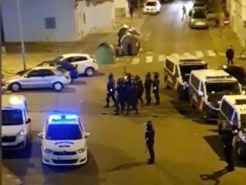 Disturbios en Jerez
